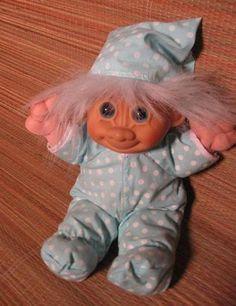 Troll dolls.
