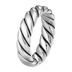 Kind of like this one too.  More masculine.  >> Scott Kay Rope Wedding Ring