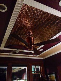 copper ceiling fan - Google Search