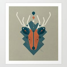 Stag on Behance