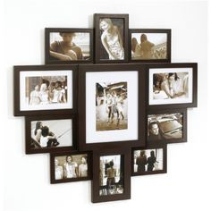 love this for small wall in bedroom, just need to space the frames a little further apart