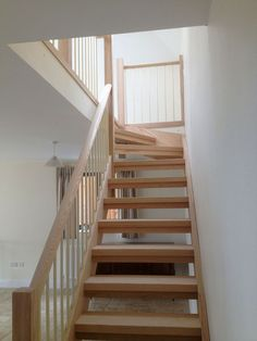 open tread stairs with steel