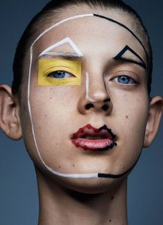 PURPLE. OURSLER: Sharif Hamza Experimental And Avant-garde Makeup Series #art #makeup #photography #portrait #sharifhamza