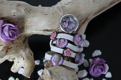 Mooie set bestaande uit een memory ketting en een photoslide armband.