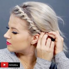 "4,398 Likes, 77 Comments - Milana | Milabu (@milabu09) on Instagram: ""NEW VIDEO out right now. I share with you my TOP 10 Best short hairstyles of 2016 // Twist Braided…"""
