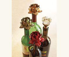 Vintage Knob Bottle Stoppers