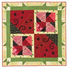 Ladybug Quilt Pattern   Quilting ePatterns
