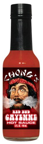 awesome Chongs Red Bud Cayenne Hot Sauce 5 Fl. Oz