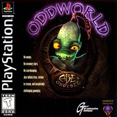 Oddworld: Abe's Odyssey. Quirky and wonderful!