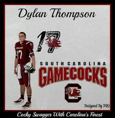 Boiling Springs is SO PROUD of you, Dylan Thompson!!!  #HometownBoy  #gogamecocks