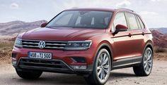 2016 Volkswagen Tiguan debuts