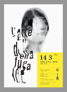 Theatre Poster by vacaliebres , via Behance