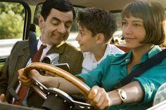 Still of Rowan Atkinson, Emma de Caunes and Max Baldry in Mr. Bean's Holiday