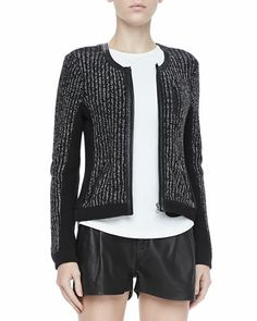 Paula Knit Zip Jacket by Rag & Bone at Bergdorf Goodman.