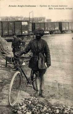 Cyclists from India serving in France during WW1