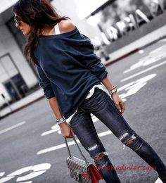 So you're VERY excited about your vacation, but stuck on what to wear? We care that you look stylish and chic at ALL times. SO we've created a smorgasbord of vacation outfit inspiration for you. Mode Outfits, Fall Outfits, Fashion Outfits, Womens Fashion, Fashion Trends, Stylish Outfits, Fashion 2016, Fashion Styles, Fashion Ideas