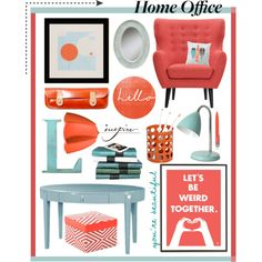 Home Office, created by sanguine-marble on Polyvore
