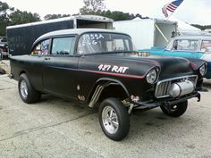 Injected 427 '55 Gasser,  ATCO ...10/6/2012