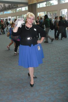My San Diego Comic Con 2013 cosplay as Pam Poovey from Archer. I think this is my favorite cosplay since I completely nailed every last detail; even down to the earrings.