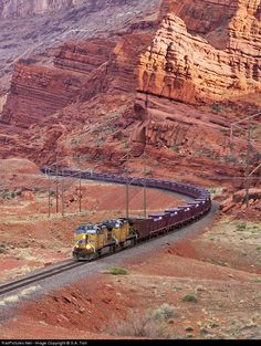 RailPictures.Net Photo: UP 5657 Union Pacific GE AC4400CW-CTE at Moab, Utah by S.A. Tish