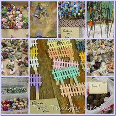 Fairy garden accessory ideas
