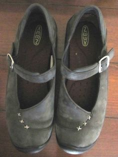 8c8ea85cfc43 Keen Verona Mary Jane Womens Casual Work Shoes Charcoal Gray Size 9   fashion
