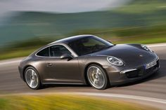 Porsche 911 Carrera 4 Coupe First official pictures of the new four-wheel-drive Porsche 911 Carrera 4