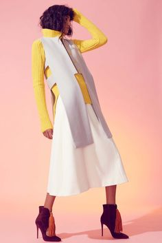 Novis Fall 2016 Ready-to-Wear Collection Photos - Vogue Fashion Shoot, Runway Fashion, Fashion News, Womens Fashion, Fall Fashion 2016, Autumn Fashion, Contemporary Dresses, Vogue, Classy And Fabulous