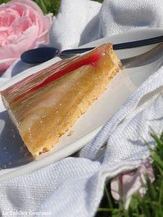 La tarte à la rhubarbe de Conticini