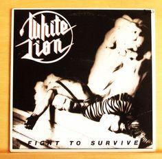 WHITE LION Fight to Survive Vinyl LP Broken Heart The Road to Valhalla Cherokee