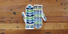Just Crafty Enough – Project: Orla Mittens