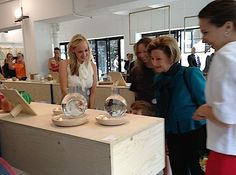 Queen Sonja visits Norwegian designers at 100 % Norway during London Design Festival (Photo: Sven Gj. Gjeruldsen, The Royal Court)