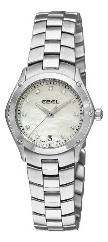 Delicious Ebel Watch for Women. love the stretchy band and it's basic.