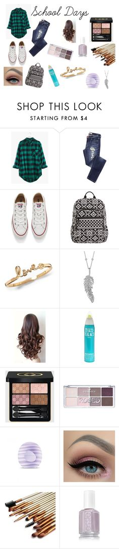 """""""School Days"""" by amp31001 on Polyvore featuring Madewell, Converse, Vera Bradley, Penny Preville, Bed Head by TIGI, Gucci, Eos, women's clothing, women and female"""