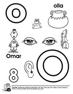 Libro trompito (1) Preschool At Home, Writing Skills, Learning Spanish, Worksheets, Alphabet, Symbols, Letters, Teaching, Education