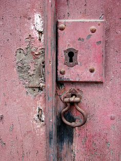 square old pink lock by daniel.virella, via Flickr