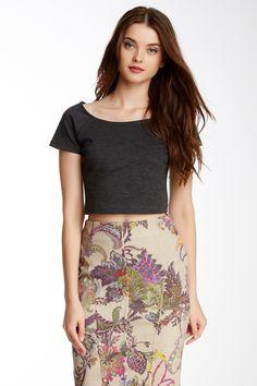 Floral pencil skirt !