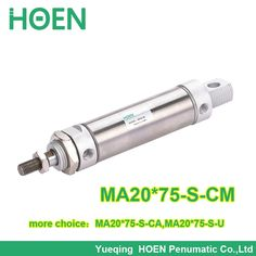 8.70$  Watch here - http://ali6i3.shopchina.info/go.php?t=32583133151 - MA20*75-S-CM stainless steel mini air cylinder MA series Airtac type MA 20*75 ma 20-75 ma20-75 20x75 single rod air cylinder 8.70$ #magazineonlinewebsite