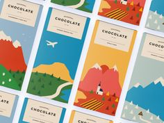 """Check out this @Behance project: """"Seasonal Chocolate"""" https://www.behance.net/gallery/46481519/Seasonal-Chocolate"""
