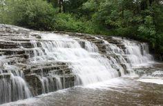 Darnley Cascade - Hamilton waterfalls, 100 waterfalls in the town