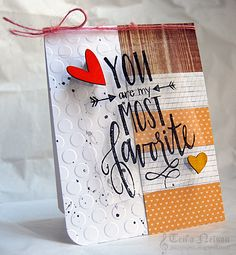 You Are My Most Favorite Card