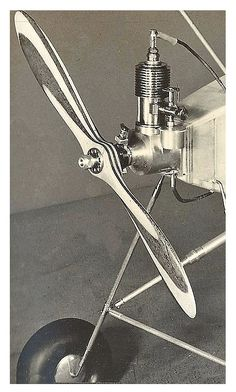 Nose and Engine of aircraft