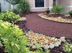Rock garden idea and landscaping design