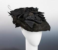 Mourning Hat 1895 The Metropolitan Museum of Art