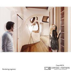CORFONE+PARTNERS - Interior design Living Room - MICA HOUSE