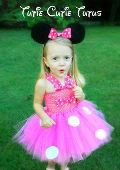 Minnie Mouse Costume Tutu Dress Size Nb-5yrs. $58.00, via Etsy.