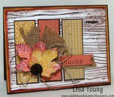 Harvest of Thanks Gratitude Card » Stampin Sammy Independent Stampin' Up! Demonstrator