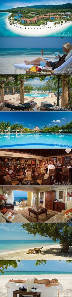 The Top Caribbean All Inclusive Resorts for Honeymoons: Sandals Whitehouse in Jamaica. (Travel agent recommended this one) Sandals All Inclusive Resorts, Caribbean All Inclusive, Beach Resorts, Hotels And Resorts, Dream Vacations, Vacation Spots, The Places Youll Go, Places To See, Honeymoon Destinations
