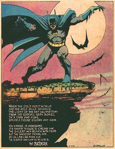 "nevver: ""…a figure solemn and grim"" I Am Batman, Marvel Dc Comics, Batman Stuff, Batman Art, Comic Books Art, Comic Art, Zombie Girl, Best Superhero, Batman Family"