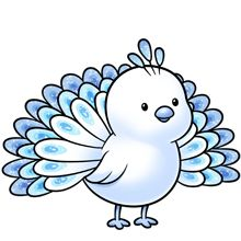 peacock more colors available plus lots of other clip art on this rh pinterest com cute animals clipart free cute animals clipart pinterest
